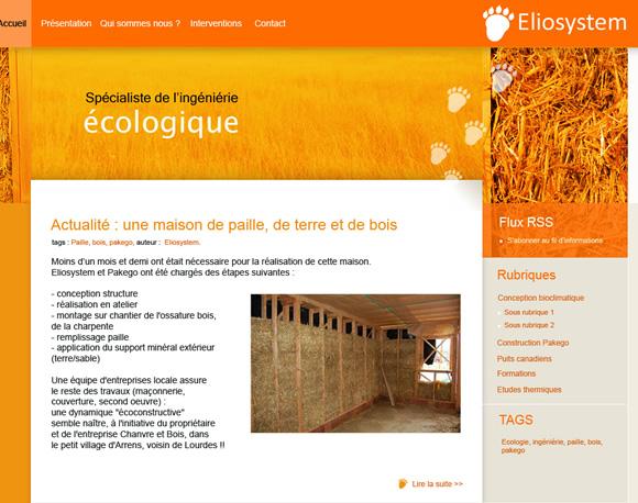 eliosystem site internet Gers