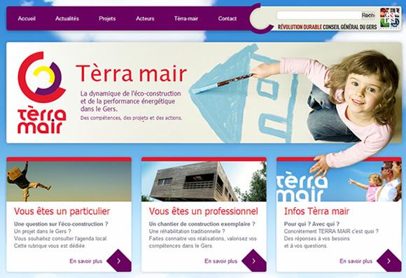terra-mair site internet conseil général du Gers : SID-Networks