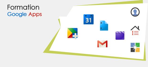 Formation Google Apps service public et entreprise privée