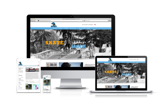 Site e-commerce Mahevan