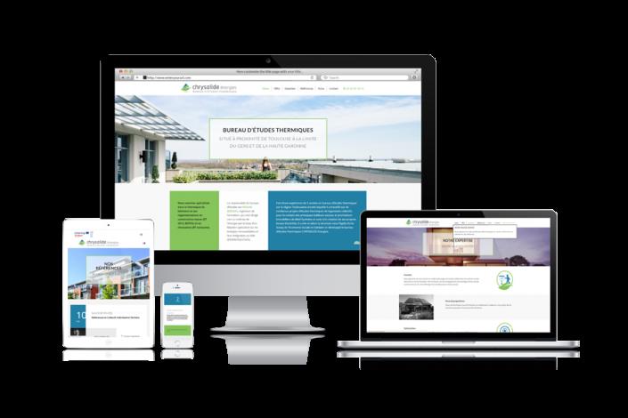 Site Internet Chrysalide Energie Gers