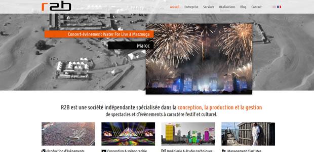 r2b Concepteur d'événements de renommées nationales et internationales