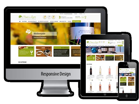Site responsive design e-commerce le temps des sages