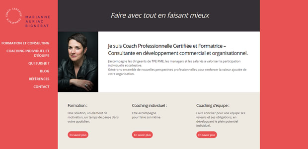 coach professionnelle site internet l'isle-Jourdain