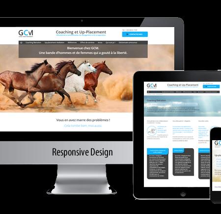 GCM France site internet gers wordpress
