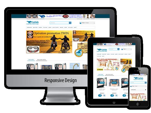 Site e-commerce : : Cachalo