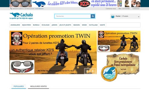 cachalo site ecommerce toulouse