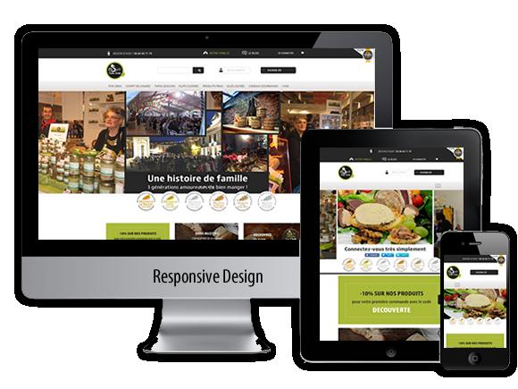 Site e-commerce : Esprit Foie Gras