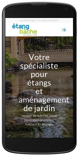 Site internet gers vente de b che en pvc et epdm pour for Bache pour etang belgique