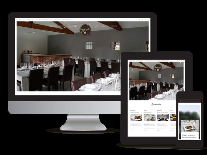 Création site internet Restaurant Gers