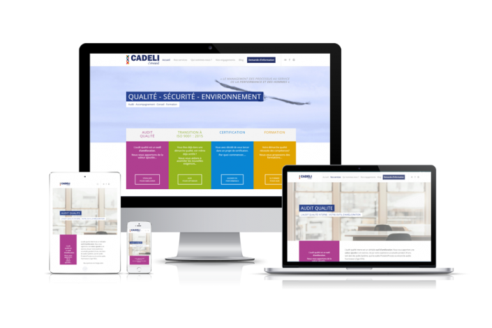 Site Internet Cadeli Conseil Gers