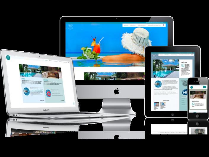 Site Internet entreprise Pisciniste haute Garonne (31)